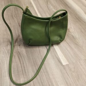 St. John's Bay avocado Green purse genuine leather